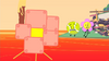 Robot Flower in the lava (BFB 15)
