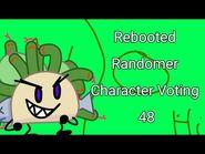 Rebooted Randomer Character Voting 48
