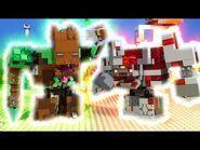 LEGO MINECRAFT JUNGLE ABOMINATION V'S THE REDSTONE MONSTROSITY