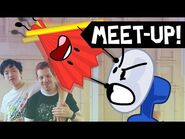 BFDI and II Finally Cross Over (L.A