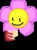 Flower holding cake 2