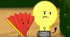 Lightbulb and fan