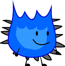 Spiky Blue Firey