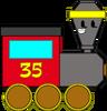 Toy Train (Pose)