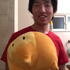 Cary and his Firey plush