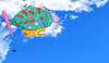 Flyers and Pinky Ponk encounters the Toppat Clan Airship 2