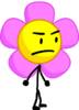 Flower staring at x in bfb 19