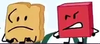 Blocky looking at Woody (BFB 22)