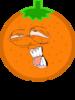 Orange Pose