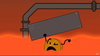Coiny sinking in lava (BFB 14)