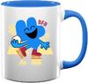Four's Blue Christmas Mug 1