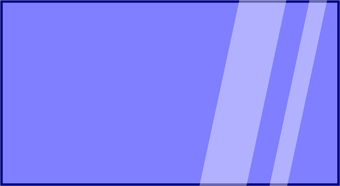 Blue Glass Pane