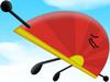 Chinese Fan In The Sky