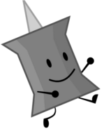 Rock pin recommended charecter from bfdi by brownpen0-daanuvs