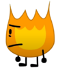 Firey In BFB 22 (Transparent)