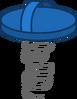 Springy Shoe (Blue)