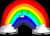 Rainbow mocking CTW Pose