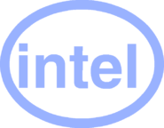 Intel Logo Body Without Glasses
