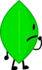 Leafy staring at x in bfb 19