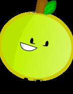Grapefruit pose