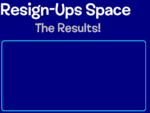 ReSign-Ups Space Results