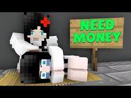 Monster School - SADAKO and KAYAKO WAS HOMELESS - Minecraft Animation
