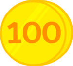 100 cents