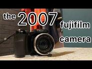 The 2007 fujifilm camera.