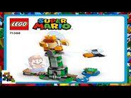 LEGO instructions - Super Mario - 71388 - Boss Sumo Bro Topple