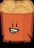 Chicken bucket pose