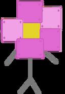 Robot flower icon