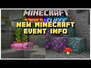 NEW Minecraft Live Event Information - Minecraft Caves & Cliffs Update