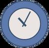 Clock Body Flat