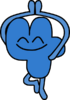Four pose when he finished dance (BFB 21)