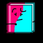 Rose & Aqua Book with BFB Faces & Limbs