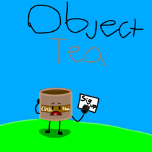 Object tea with the host circle tea lonely .png