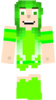 Human Leafy (Minecraft)
