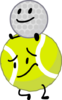 Golf Ball and Tennis Ball