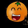 Orangeys pose