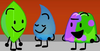 Gelatin, Leafy and Teardrop (BFB 27)