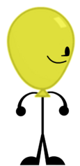 Yellow Balloony (New Pose)