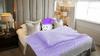 Pillow sleeping in the bedroom