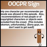 OOCPR Sign