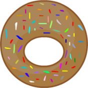 Chocolate Donut Wide O Center