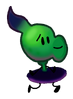 702Shadow Peashooter pose