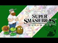 Ultimate Battle - Plants vs. Zombies - Super Smash Bros