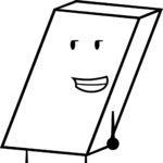 White eraser recommended character from bfdi by brownpen0-daapjjd.png