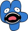 Four - the screech, is going to, be done (BFB 13)