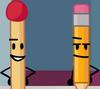 Match and Pencil (BFDI Among Us)