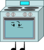 Oven (Pose)